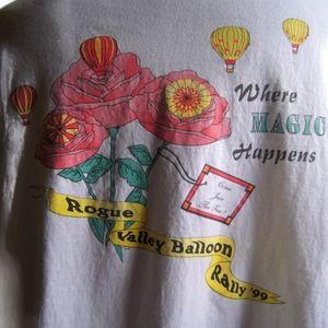 1999 Rogue Valley Balloon Rally Pilot T-Shirt